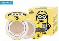 ТОНАЛЬНЫЙ КРЕМ КУШОН MISSHA MINIONS EDITION M MAGIC CUSHION MOISTURE SPECIAL SET SPF50+/PA+++