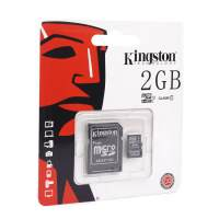 Карта памяти Kingston microSDHC/microSDXC Class 10 HS-I 2GB  Карта памяти Kingston microSDHC/microSDXC Class 10 HS-I 2GB
